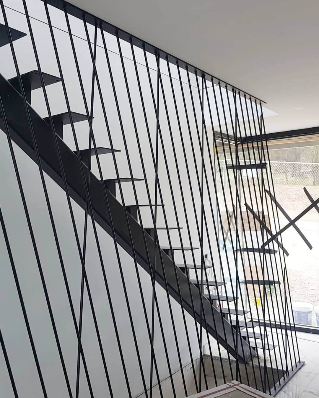 پله فلزی تک شاسی